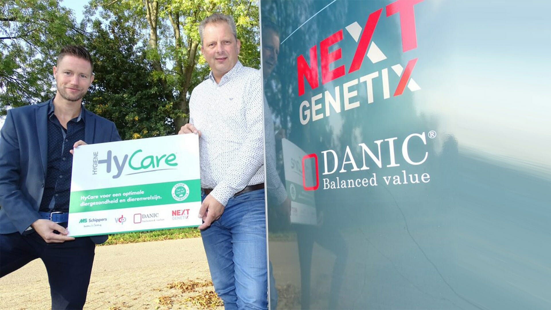 Next Genetix er de første til at implementere HyCare i svineproduktion